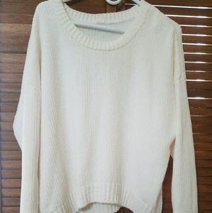 GAP Chenille Sweater Hits About Waistline EUC!